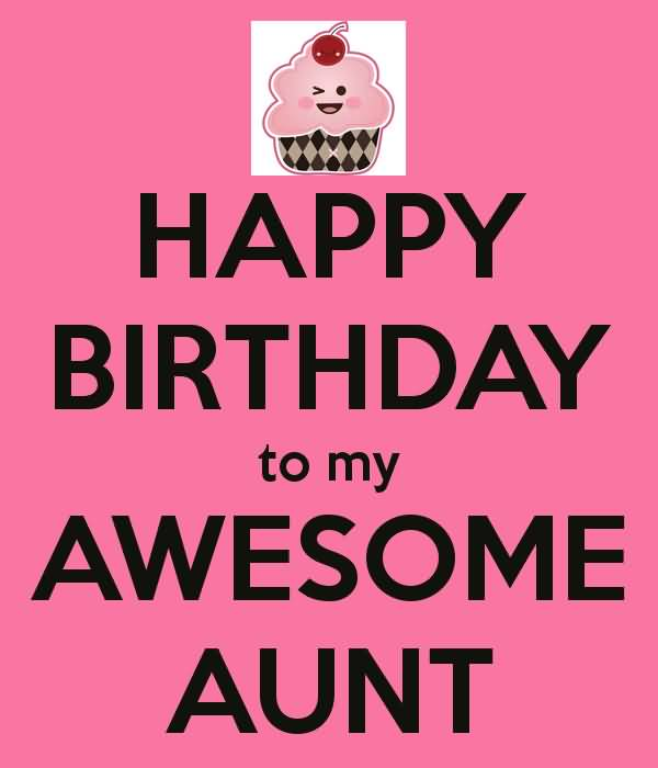 Awesome Lovely Aunt Happy Birthday Wishes Greeting E Card
