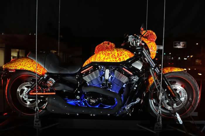 Cool Harley Davidson One Million Dollar Bike Body Design