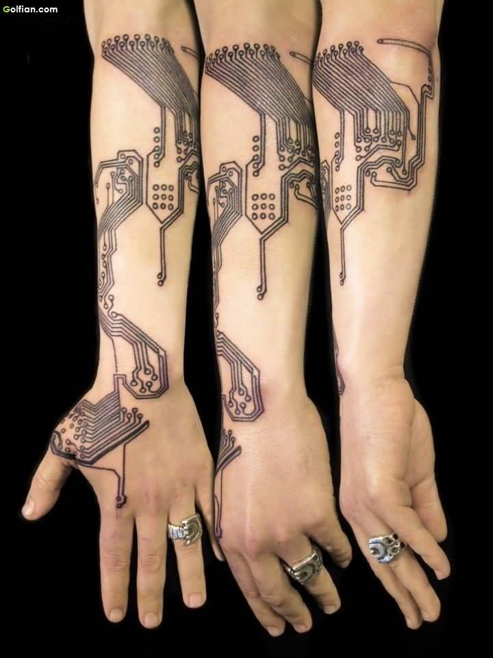70 coolest forearm tattoos design and ideas gallery. Black Bedroom Furniture Sets. Home Design Ideas