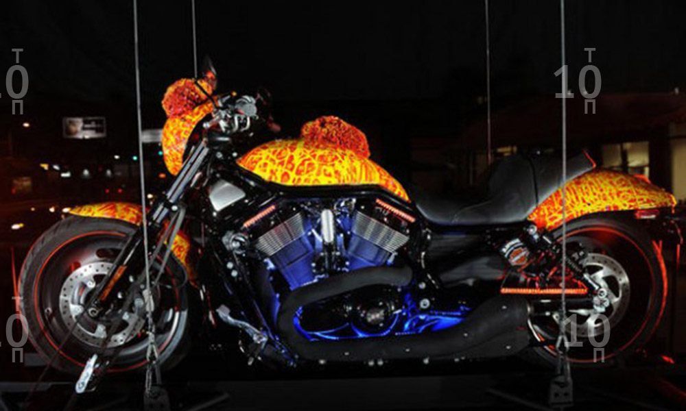Fantastic Harley Davidson One Million Dollar Bike Body Design