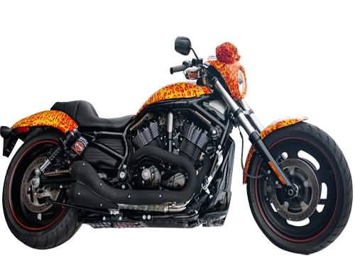 Full Body Look Of 1 Million Dollar Harley Davidson Custom Bike