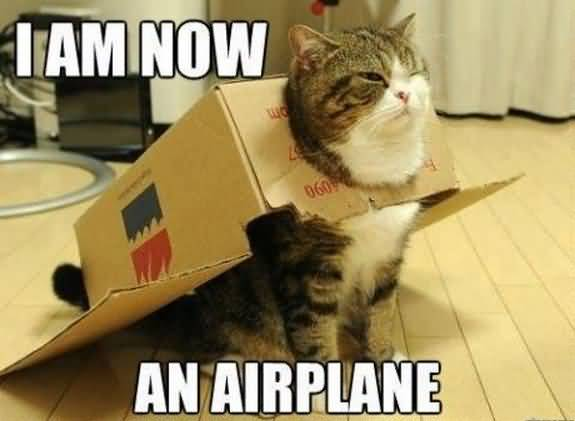 I am now an airplane