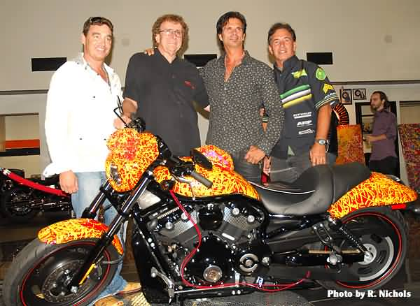 Jack Armstrongs & Friends With Harley Davidson One Million Dollar Bike