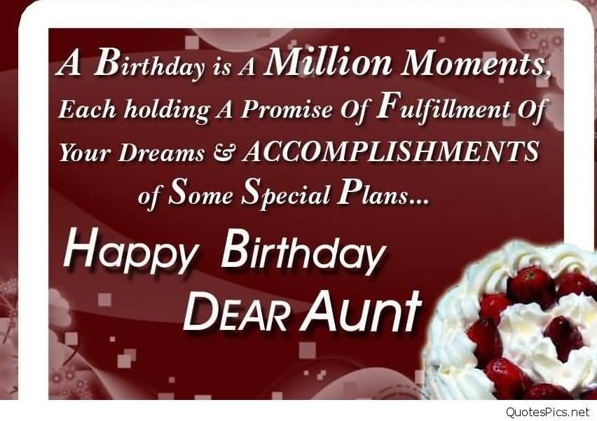 religious birthday wishes for sweet aunt