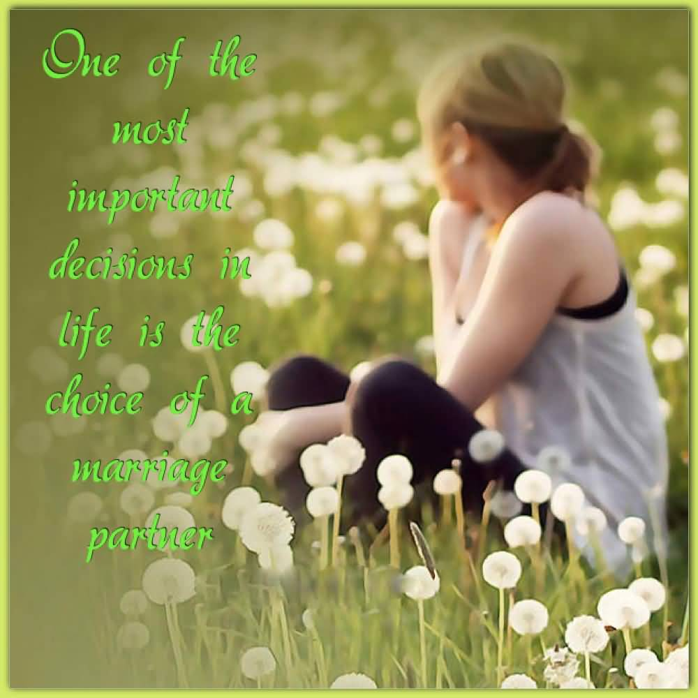 one important decision in my life Everybody may have different important decisions to make in their lives, and those decisions will always affect one's fate directly or indirectly as for me, i have also made some important decisions in my life, because i am no longer the little girl that needs others to decide what i should or shouldn't.