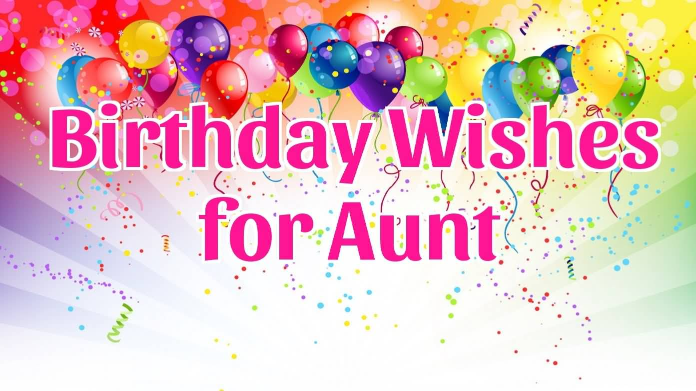 Best birthday wishes for aunt on facebook segerios wonderful birthday wishes for aunt greetings kristyandbryce Choice Image