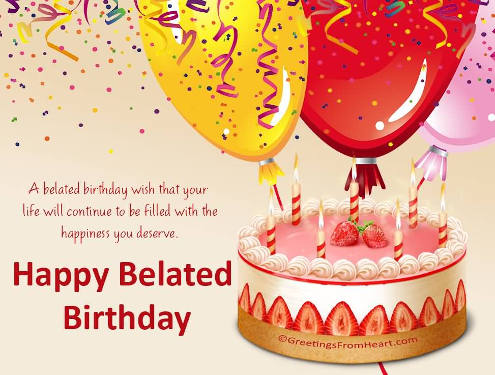 Humorous Belated Birthday Wishes ~ Belated birthday wishes for a boss segerios