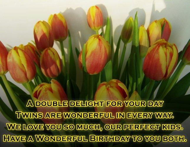 A Double Delight For Your Day Have A Wonderful Birthday To You Both