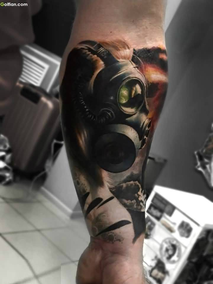 Another Best 3d Arm Tattoo Design For Men