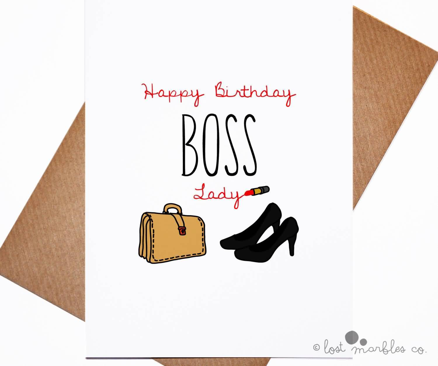 Happy birthday wishes lady boss m4hsunfo