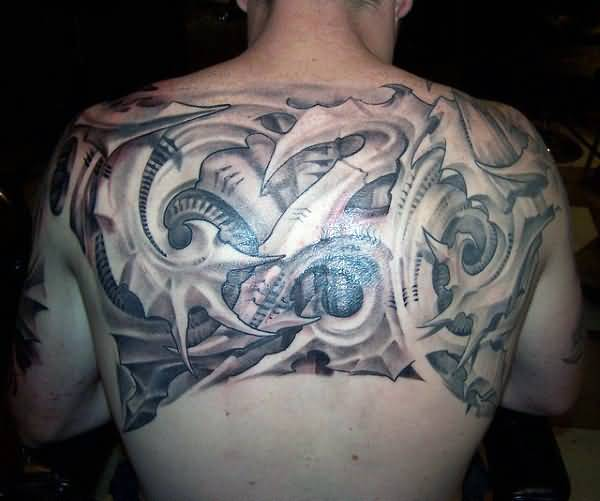 Small Upper Back Tattoos For Guys