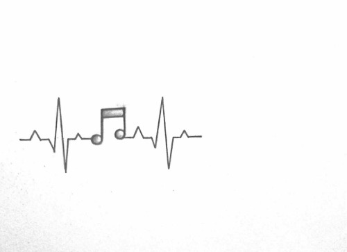 150+ Attractive Heartbeat Tattoos Designs and Ideas Stock