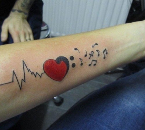 Tattoo Word Generator: Nice Ekg Tattoo Generator