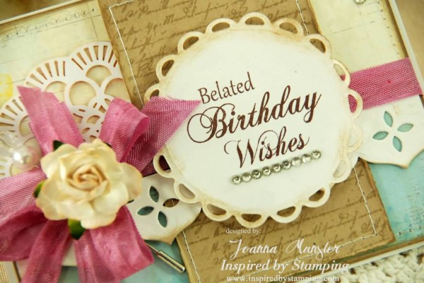 Fabulous Belated Birthday Wishes E Card