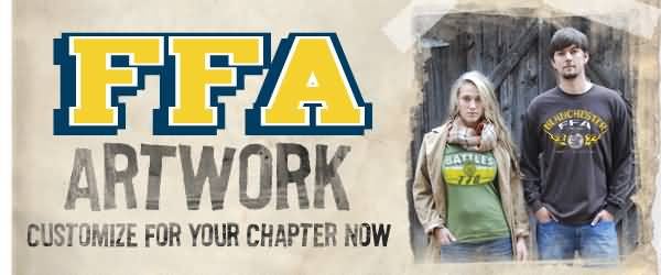 Ffa artwork customize for your chapter now
