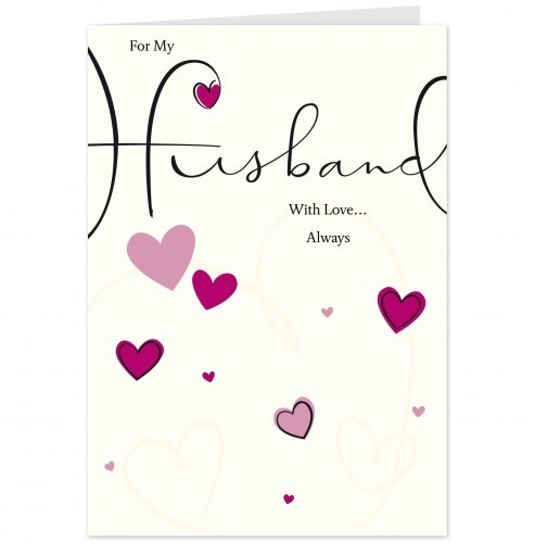for my husband with love always