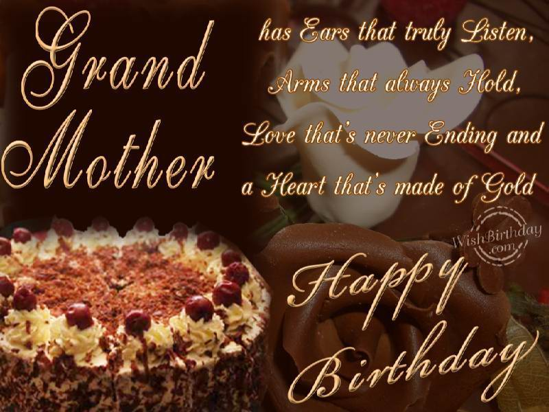 Birthday message for grandmother tagalog grand mother has ears that truly listen arms happy birthday m4hsunfo