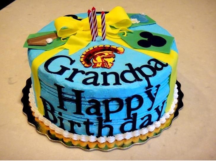 Homemade Birthday Cake For Grandpa