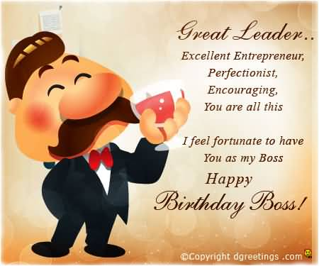 Great Leader Excellent Entrepreneur I Feel Fortunate To ...