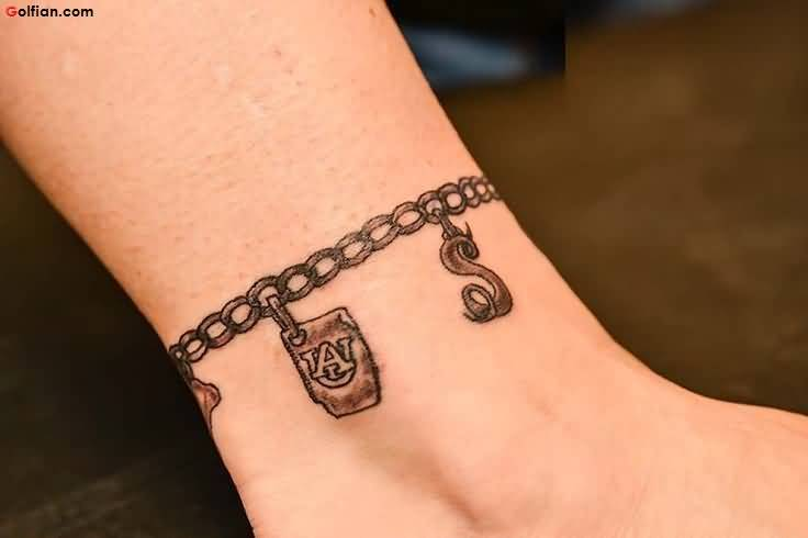 Ankle Bracelet Tattoo Meaning For Women