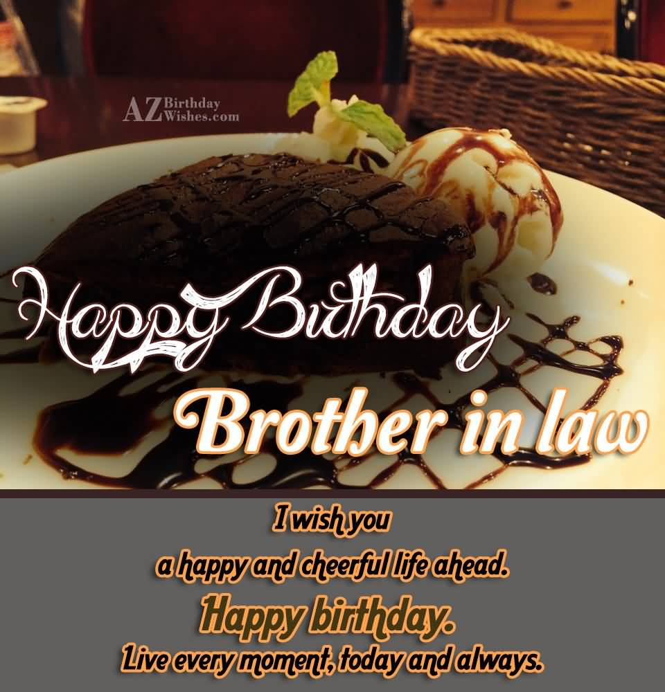 Birthday Wishes For Brother In Law For Facebook