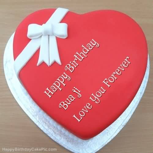 Cake for bua birthday segerios segerios happy birthday bua ji love you forever bookmarktalkfo Image collections