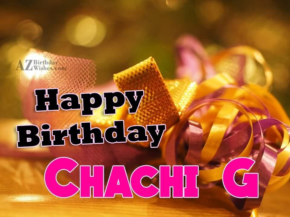 Happy Birthday Chachi Ji