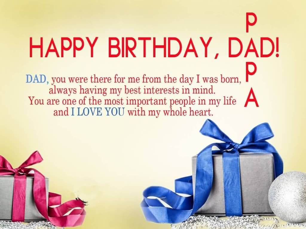 Dad birthday messages funny segerios happy birthday dad papa dad you were there for me from the day i was born m4hsunfo