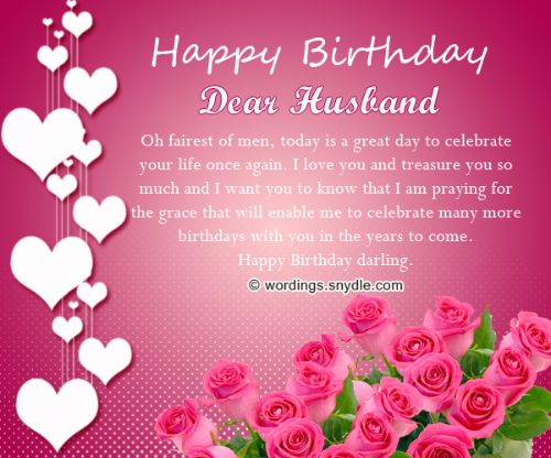 100 Cute Birthday Wishes For Dear Husband