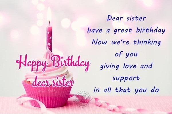 inspirational birthday message for sister Inspirational Birthday Message For Sister inspirational birthday message for sister