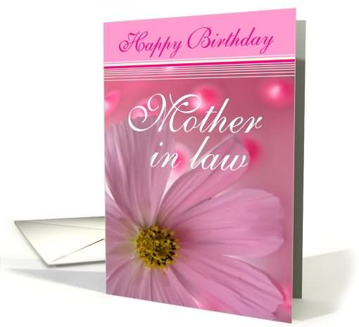 Happy Birthday Mother In Law Greeting Card Segerios