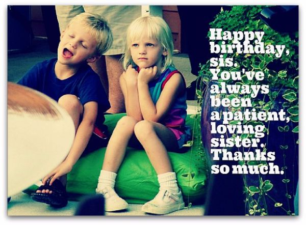 Birthday Wishes Ideas Sister ~ Ideas abouthappy birthday wishes archives page of