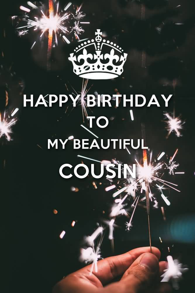 Cousin birthday wishes segerios happy birthday to a beautiful cousin m4hsunfo