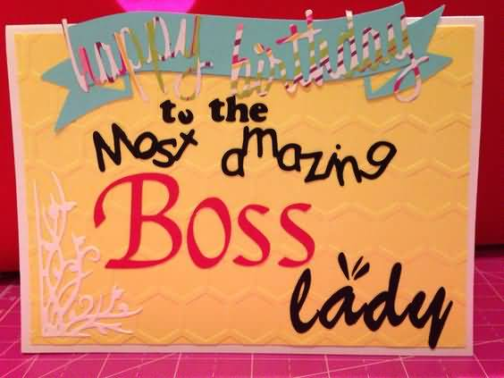 Birthday greetings for lady boss segerios happy birthday to most amazing boss lady m4hsunfo