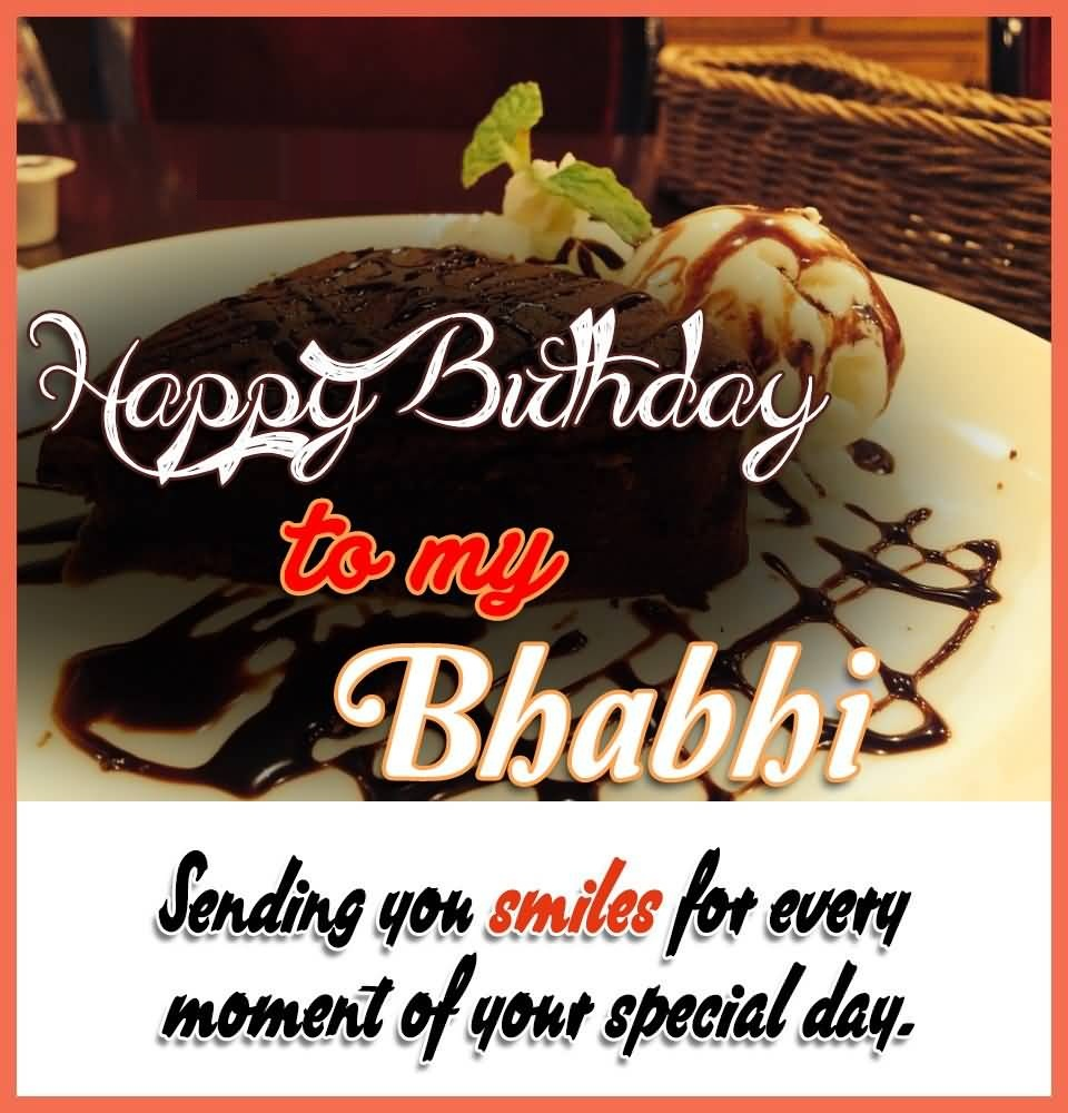 40 Beautiful Bhabhi Birthday Cake Wishes