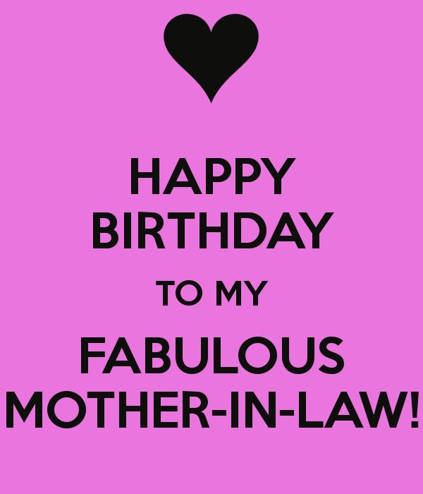 Happy Birthday To My Fabulous Mother In Law 4 mother in law birthday wishes from son in law segerios com