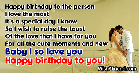Happy Birthday To The Person I Love The Most For All The Cut Moment And New Baby I So Love You Happy Birthday