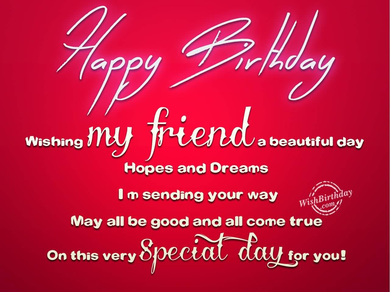 All About Birthday Wishes For Best Friend Quotes And Messages