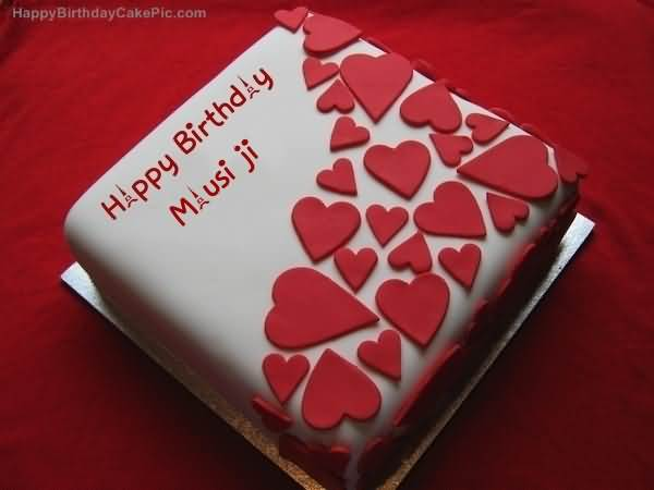 Heart Birthday Cake To Happy Birthday Masusi Ji