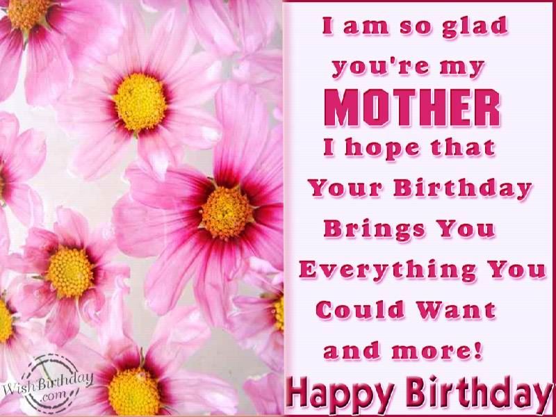 Happy birthday mom letter segerios segerios i am so glad youre my mother i hope that your birthday bring you m4hsunfo