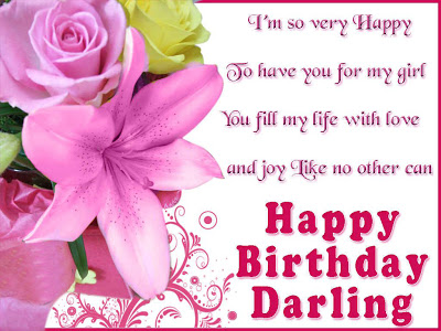 I Am So Very Happy To Have You For My Life Happy Birthday Darling