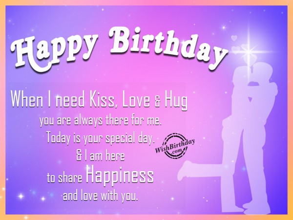 I Love The Sparkle In Your Eyes And The Beautiful Smile You Have When We Are Together Happy Birthday