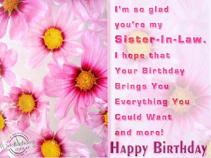 Stupendous Birthday Status For Little Sister In Law Segerios Com Personalised Birthday Cards Beptaeletsinfo