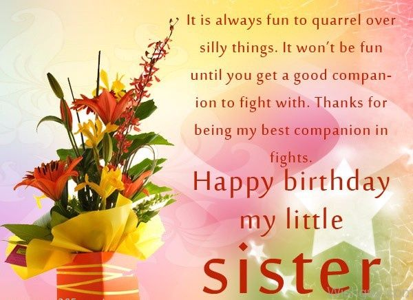 Inspirational Birthday Message For Sister Segerios Com