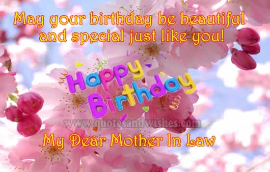 Happy Birthday Wishes Daughter In Law ~ Wonderful mother in law birthday wishes segerios.com segerios.com