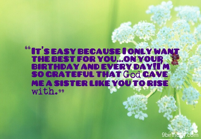 Me A Sister Like You To Rise With