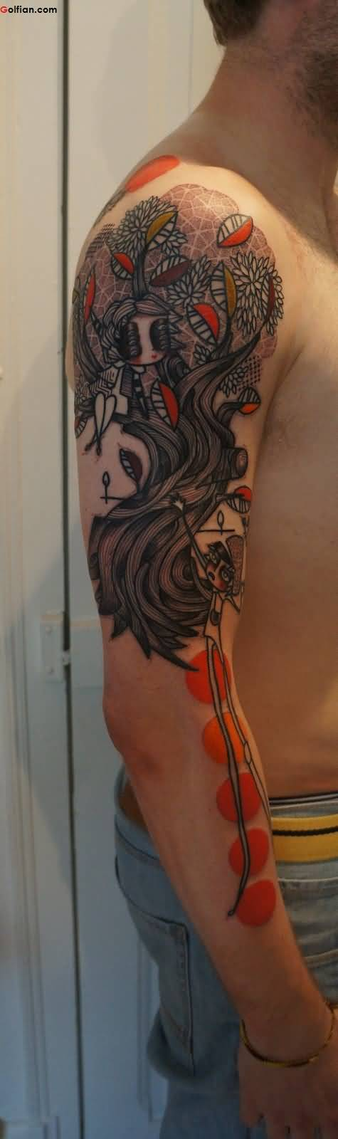 Most Amazing Arm Tattoo Design For Funky Men