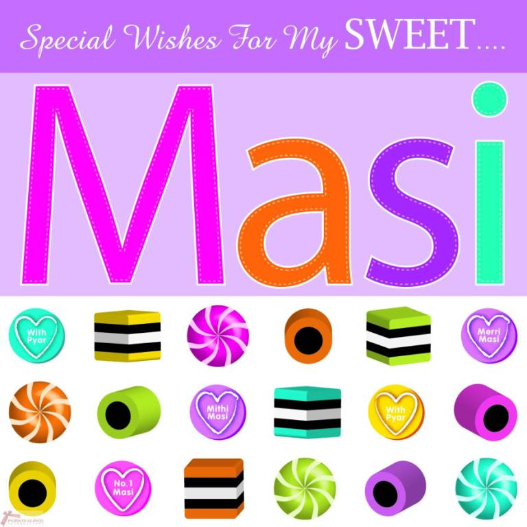 Special Wishes For To My Sweet Masi