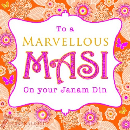 To A Marvelous Masi On Your Janam Di