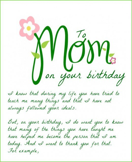 To Mom On Your Birthday I Know That During My Life You Have Tried To 100 wonderful birthday wishes for mother segerios com